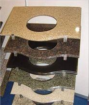Countertop 6, Yellow Granite Bath Tops