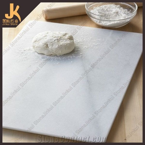 Cutting Board Tray White Marble Kitchen Accessories From