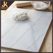 Cutting Board Tray, White Marble Kitchen Accessories