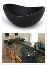 Granite-Bathroom-Sink, Black Granite Sinks