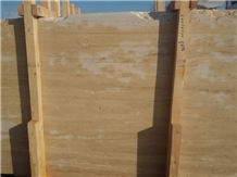 Classic Travertine Slabs, Turkey Beige Travertine
