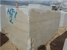 Karaman Light Travertine Blocks, Beige Turkey Travertine Blocks