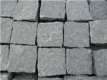 G654 Chinese Grey Granite Cobble Stone