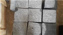 New Black Basalt Cube Stone