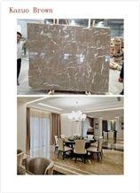 Brown Marble Slab, the Latest Brown Marble Slab, Kazuo Brown Marble Slabs & Tiles