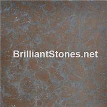 Yangtze River Limestone Tile/Slab/, China Brown Limestone Slabs & Tiles