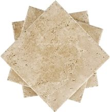 Classic Medium Unfilled Travertine Tiles from Turkey, Stocked in Usa