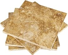 Yellow Travertine Tile from Turkey, Stocked in Usa