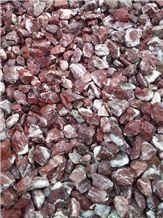 Rosso Levanto Marble Pebble Stone