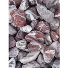 Syrian Ruby Red Pebble Stones