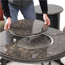 Tan Brown Granite Table Top, Brown Granite Top