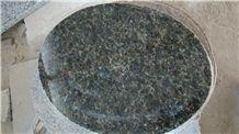 Verde Ubatuba Granite Round Table Top