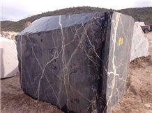 Black Thunder Marble Blocks, Mexico Black Marble