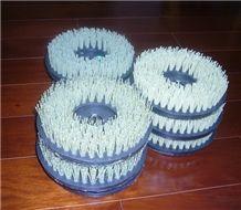 8 Inch Diamond Brushes/Diameter 200mm Diamond Abrasive Brush Used in Hand Machine