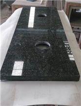 China Butterfly Green Granite Bathroom Countertops