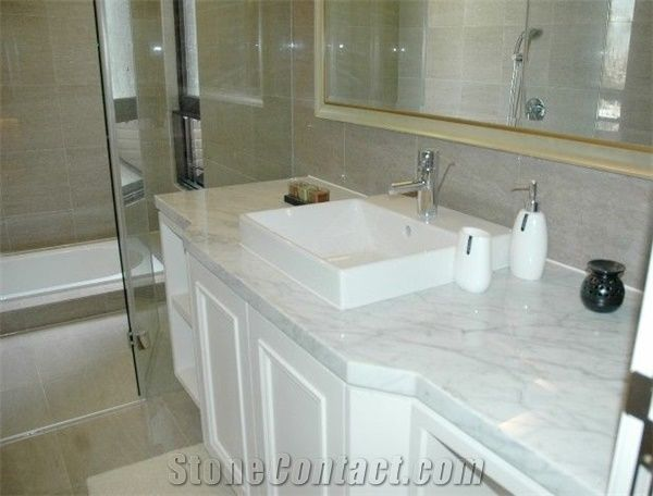 white bathroom countertops white marble bathroom countertops from china 249882 15056