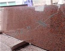 Natural Maple Red Granite Stone Slabs & Tiles, China Red Granite