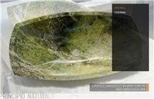 Irish Green Marble Solid Sink