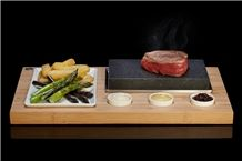 Lava Rock Cooking Grill Sets‎, Sizzling Steak Lava Stone Set, Steak Cooking Stones, Kitchen Accessories
