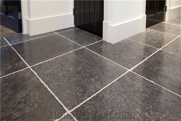 Antique Belgian Bluestone Floorings Slabs Tiles Belgium