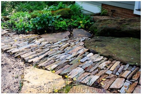 Landscape Design Patio Walkway Pavers From United States Stonecontact Com