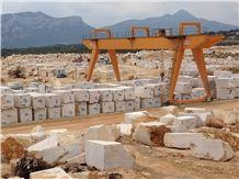 Beige Daino Marble Block, Italy Beige Marble