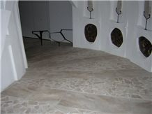 Orosei Dark Cloudy, Orosei Nuvolato Scuro Floor and Wall Tiles, Daino Nuvolato Marble Slabs & Tiles