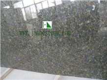China Butterfly Green Granite Slabs