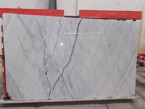Polar White Marble Slabs Tiles From India Stonecontact Com