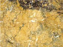 Giallo Samad Marble Tiles, Oman Yellow Marble