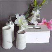 Natural Stone Bath Accessories,Marble Bath Set