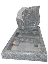 Poland Spray White Granite Tombstone/Monument