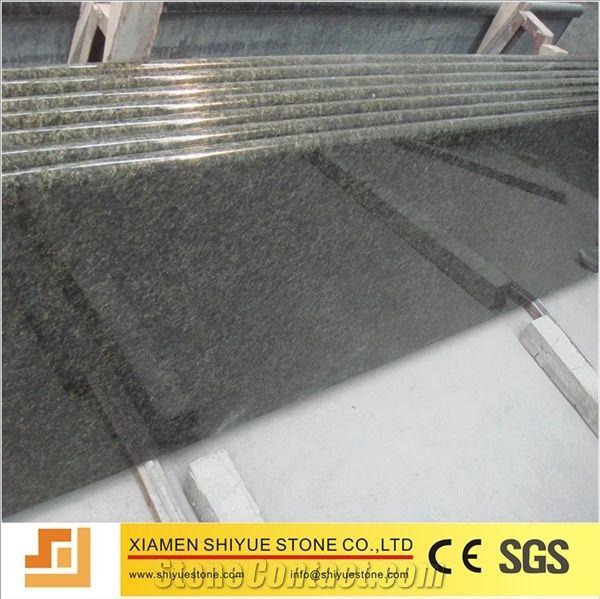 Polished Ubatuba Granite Low Price Brazil Green Verde Kitchen Countertops