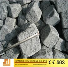 Sesame Black Granite Cobblestone,Sesame Black Cobb