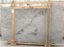Blue De Savoie Marble Slabs 1st Quality, Grey Polished Marble Flooring Tiles, Walling Tiles