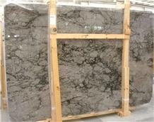 Noble Grey Marble Slabs & Tiles, Grey Polished Marble Flooring Tiles, Walling Tiles