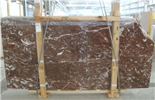 Rouge Griotte Belge Marble Slabs & Tiles, Red Polished Marble Flooring Tiles, Walling Tiles