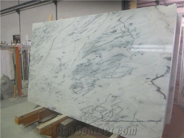 Carradinha Marble Estremoz White Marble With Grey Veins