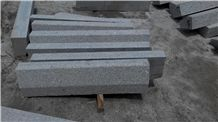 Bevel Edge Granite Kerb, G341 Grey Granite Kerbs