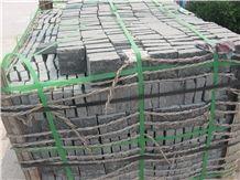 G301 Jinan Black Granite Cube Paver