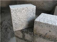 G365 White Granite Cube Stone
