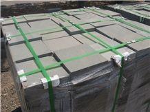 Green and Grey Sandstone Tile