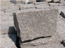 Qilu Red Granite Cube Stone
