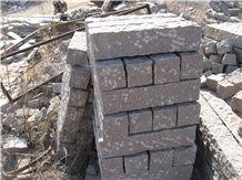Red Granite Stone Fence, G354 Pink Granite Fence