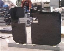 Shanxi Black Granite Cross Monuments