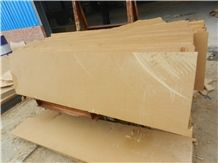 Yellow Sandstone Cantera Slab, China Yellow Sandstone Slabs & Tiles
