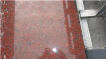 Africa Red-8, Xiamen Port Red Granite Tiles & Slabs