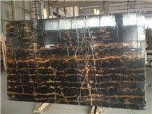 Black Golden Flower. Slabs & Tiles, Black,Black Golden Flower Marble Slabs & Tiles