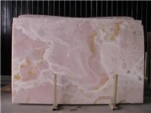 Pink Onyx Slabs & Tiles, Iran Pink Onyx