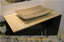 Pink Rose Marble Vanity Top at Wholesale Price